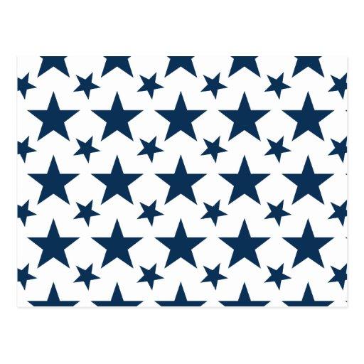 Star 2 Dazzling Blue Post Card