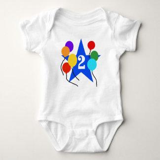 Star 2nd Birthday Baby Bodysuit