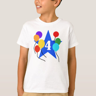 Star 4th Birthday T-Shirt