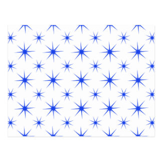 Star 5 Blue Postcard