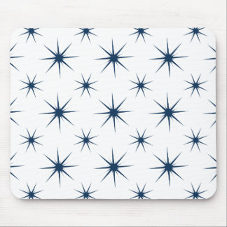 Star 5 Dazzling Blue Mouse Pad