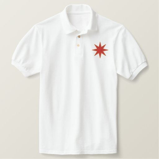 STAR 5 EMBROIDERED SHIRT