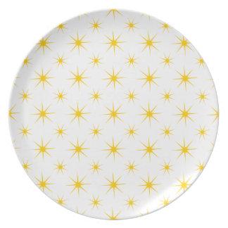 Star 5 Freesia Party Plates