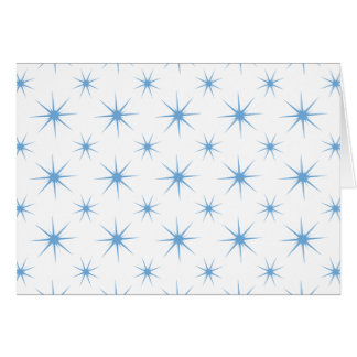 Star 5 Placid Blue Greeting Card