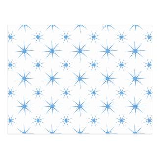 Star 5 Placid Blue Post Cards