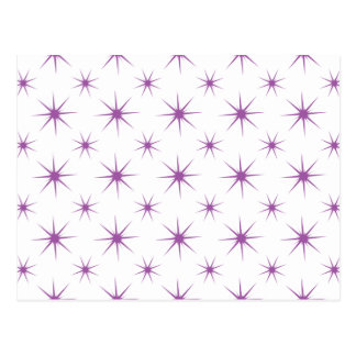 Star 5 Radiant Orchid Postcard