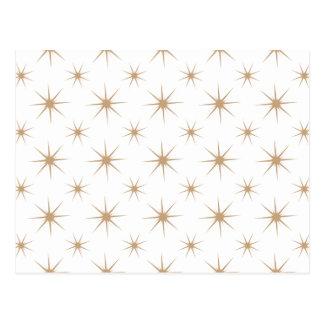 Star 5 Sand Postcard