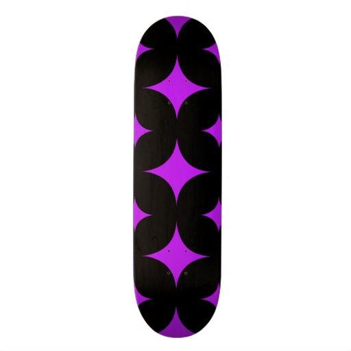Star 7 Purple Skateboard