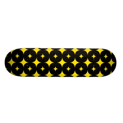 Star 7 Yellow Skateboards
