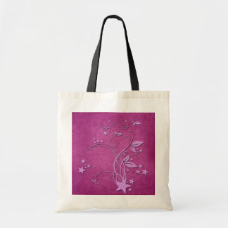 Star and Leaves Budget Tote Bag