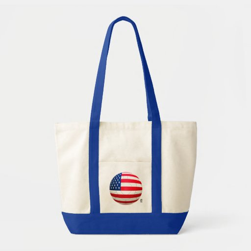 Star and Stripes - USA Soccer Canvas Bag