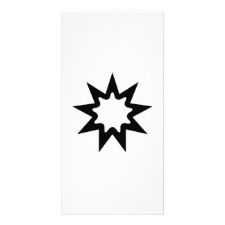 Star Art Photo Card Template