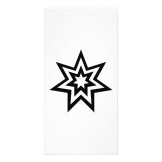 Star Art Photo Greeting Card
