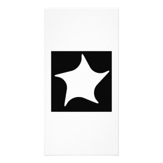 Star Art Personalized Photo Card