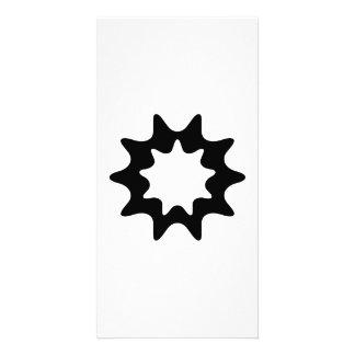 Star Art Customized Photo Card
