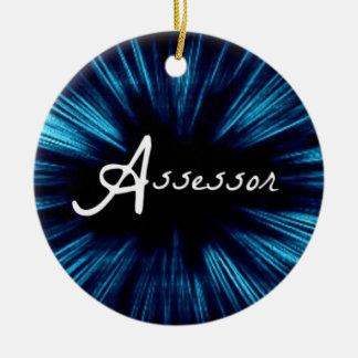 Star Assessor Christmas Ornament