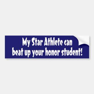 Star Athlete Bumper Sticker