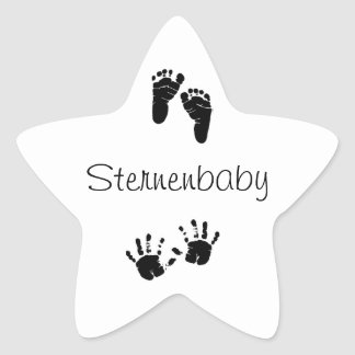Star baby sticker