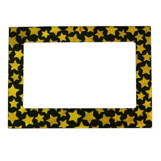 Star background magnetic picture frame