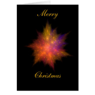 Star Ball #5 Christmas card
