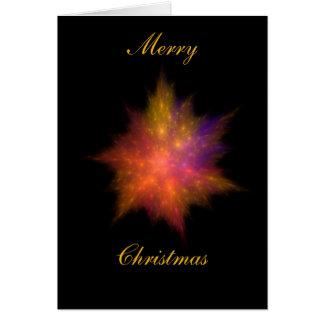Star Ball #5 Christmas card