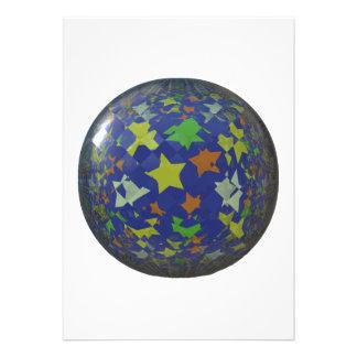 Star ball personalized invite