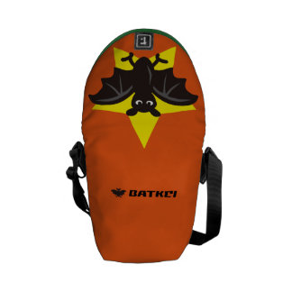 Star Bat Orange Commuter Bags