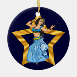 Star Belly Dancing Girl Ornament