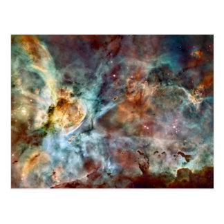 Star birth & death in the Carina Nebula Postcard