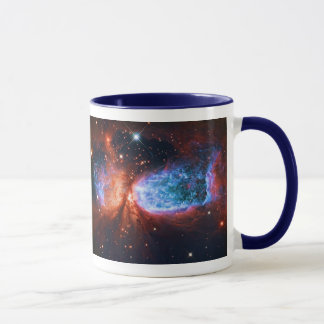 Star Birth in Constellation Cygnus, The Swan Mug