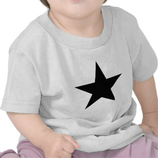 Star Black The MUSEUM Zazzle Gifts Tshirt