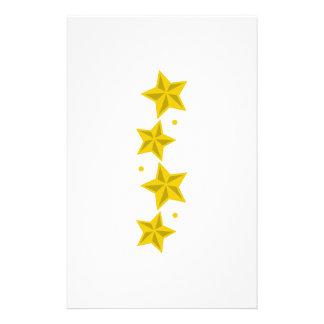 STAR BORDER CUSTOMIZED STATIONERY