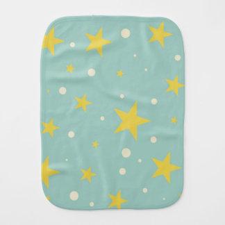 Star Bright Burp Cloth