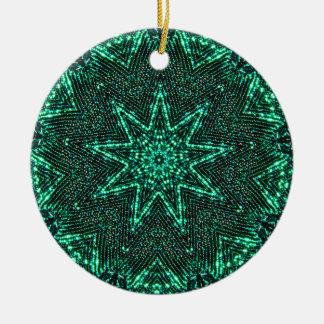 Star Bright Fractal Christmas Ornament