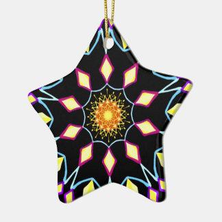 Star bright ornament. christmas ornament