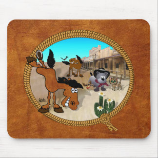 Star Bucky the Rodeo Horse Mouse Mat