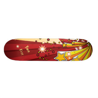 Star Burst Born Free Skateboard Decks