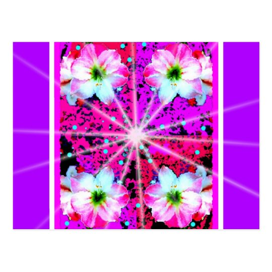 Star Burst Fantasy Design by Sharles Postcard