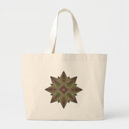 Star Burst nuevo Canvas Bag