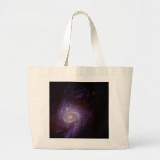 Star-Burst Spiral Galaxy NGC3310 Jumbo Tote Bag