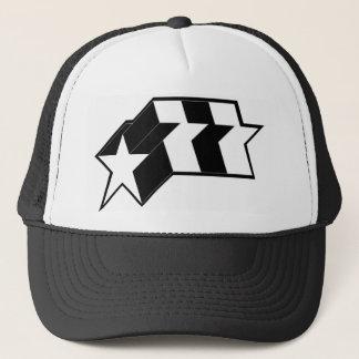 star burst trucker hat