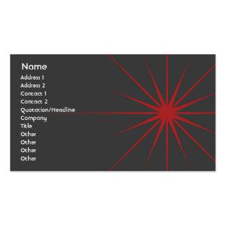 Star - Business Business Card Templates
