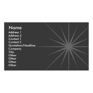 Star - Business Business Card Template