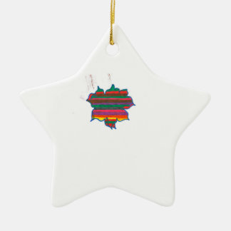 star ceramic star decoration