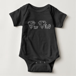 Star Child Baby Bodysuit
