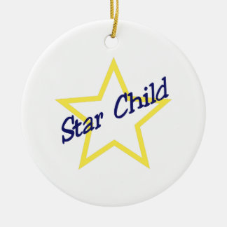 Star Child Christmas Ornament
