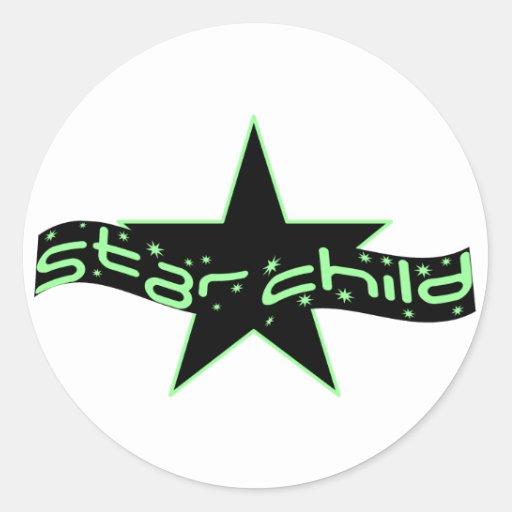 Star Child Stickers
