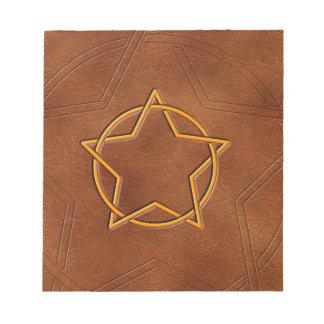 Star & Circle Sorcerer Notepad