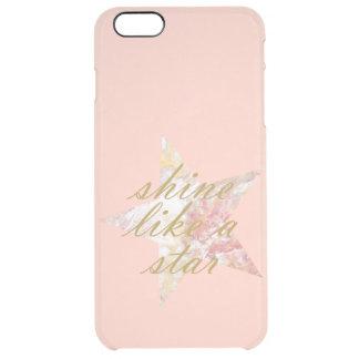 Star Clear iPhone 6 Plus Case
