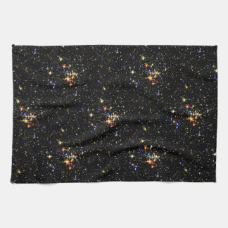 STAR CLUSTER an outer space design Towel